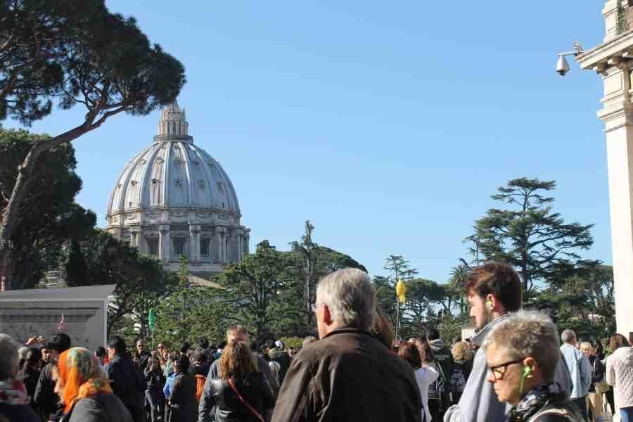 Museus do Vaticano -vista da cúpula