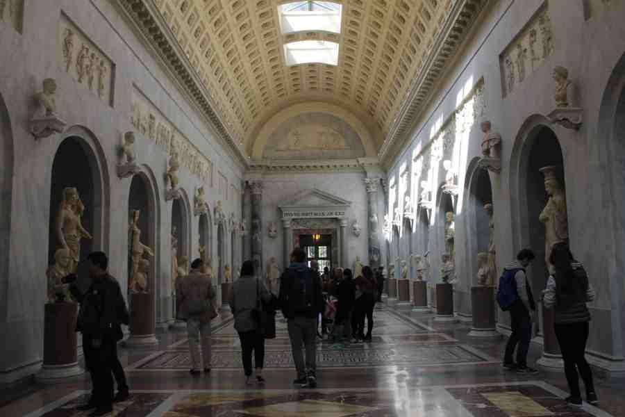 Museus do Vaticano - Braccio Nuovo