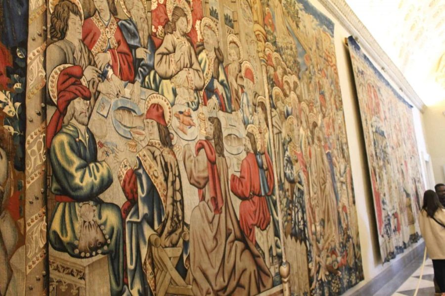 Museus do Vaticano - Sala das Tapeçarias