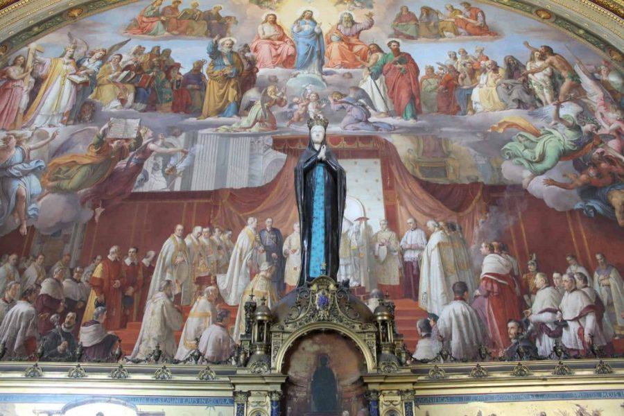 Museus do Vaticano - Sala dell'Immacolata