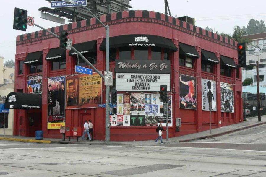 Whisky a GoGo, West Hollywood. Foto: Reprodução.