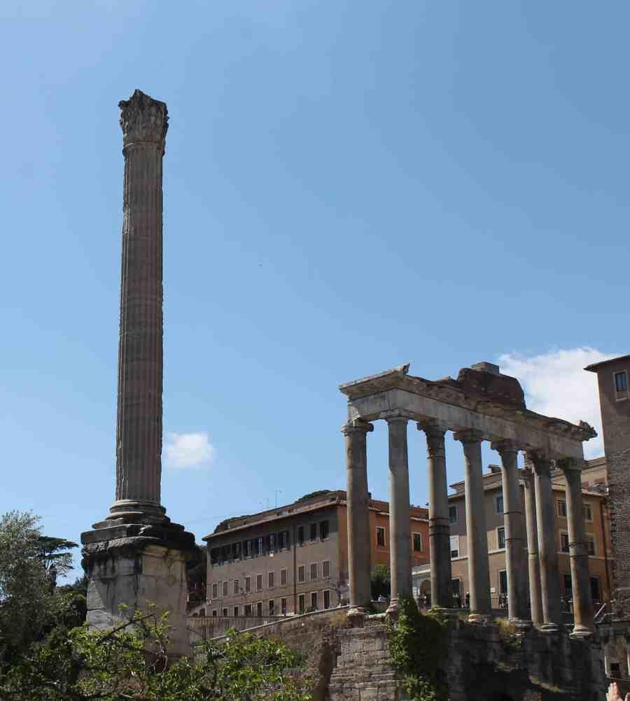 Principais atrações para visitar no Fórum Romano