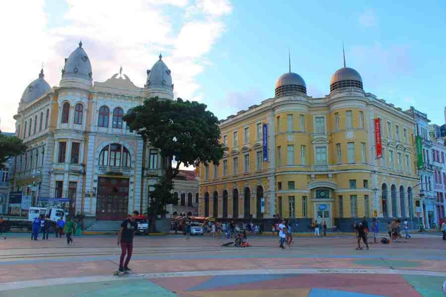 Praça do Marco Zero, Recife Antigo. O que fazer em Recife e Olinda.