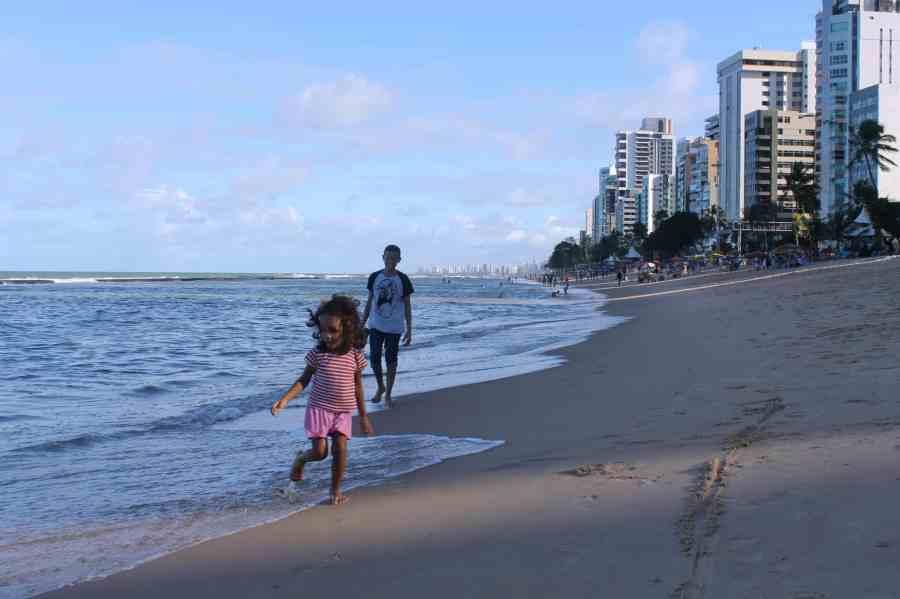 Praia de Boa Viagem. O que fazer em Recife e Olinda.