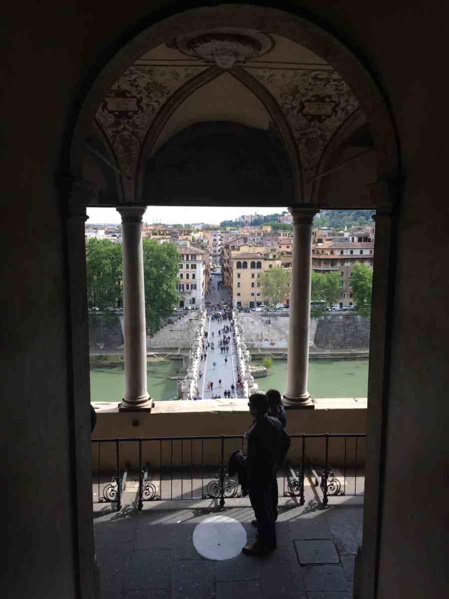 Castelo Sant'Angelo - Roteiro de um dia pelo centro turístico de Roma, Itália