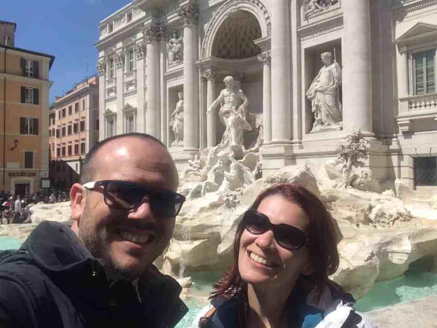 Fontana di Trevi - Roteiro de 3 dias em Roma