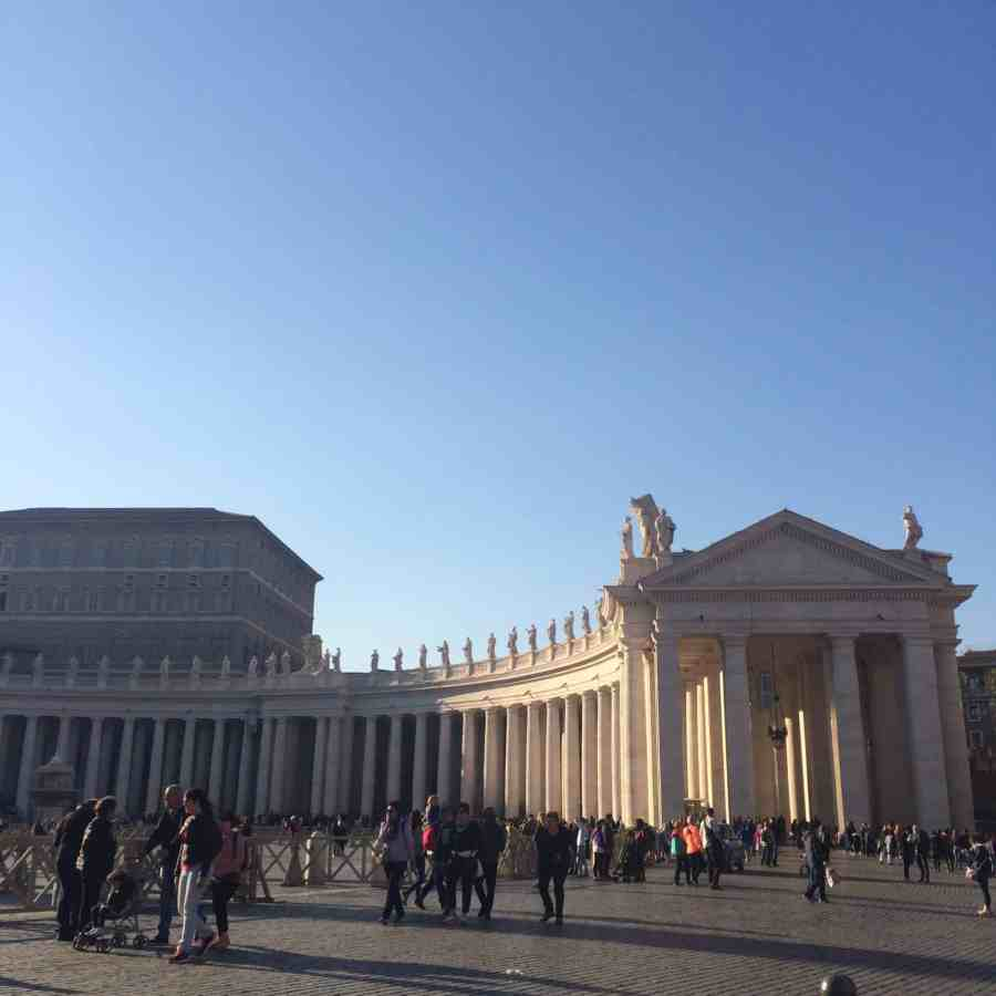Praça São Pedro - Vaticano - Roteiro de 3 dias em Roma