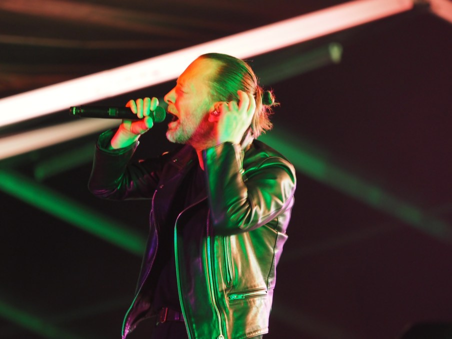 Thom Yorke @ the White Stage