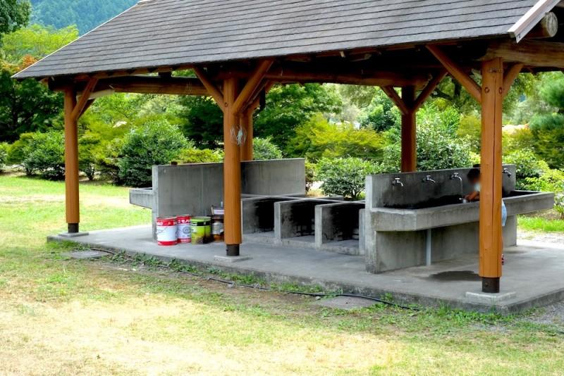 くのわき親水公園キャンプ場|かまど(西側)