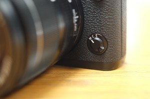 Fujifilm X-T1 Focus Switch