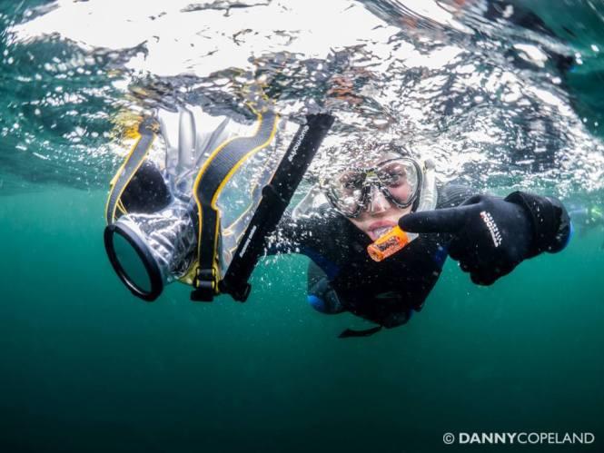 Ben Cherry XT1 underwater
