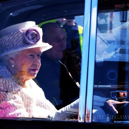 VJ day Queen