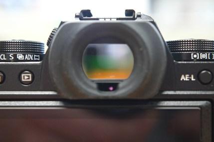 Fujifilm X-T1 EVF