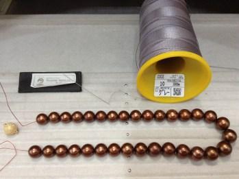 パールネックレスの糸換え時における3つのポイント〜南洋真珠編