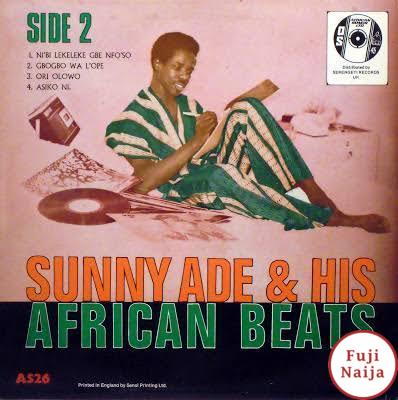 Sunny Ade And His African Beats – NiBi Lekeleke Gbe NfoSo
