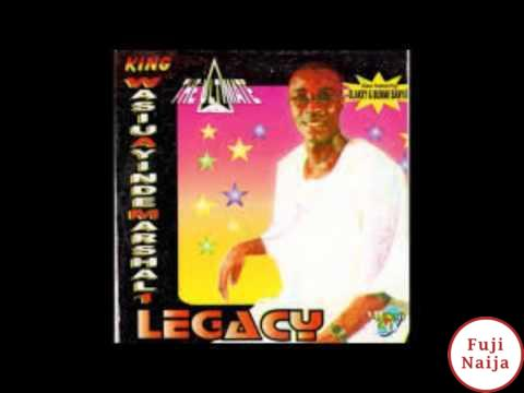 Wasiu Ayinde K1 – Legacy