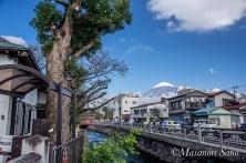 神田橋からの富士山