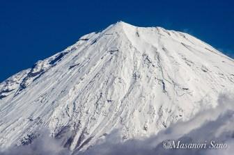 明星山からの富士山