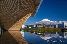 富士山世界遺産センターから2020.1.19