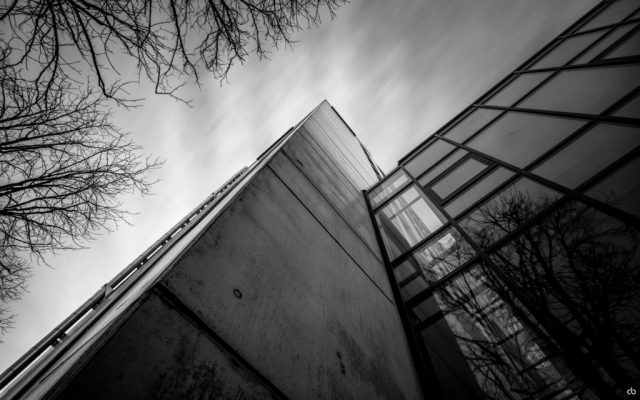 Building - black and white - Gersthofen | Fujifilm | X-T1 | 12mm