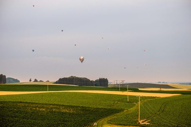 Ballon-Verkehr - Landscape | Fujifilm | X-T1 | 50-140mm