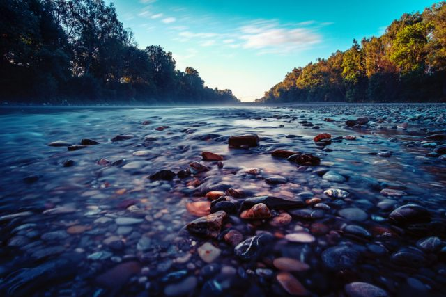 Lechsteine und Wolken | Fujifilm | X-T1 | 12mm
