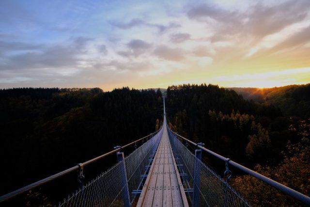 Sonnenuntergang am Geierlay   Fujifilm X-T3   12mm