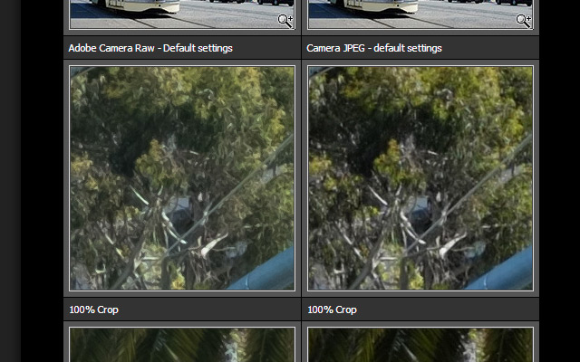 Revelado con Lightroom VS JPEG de la cámara by DPreview