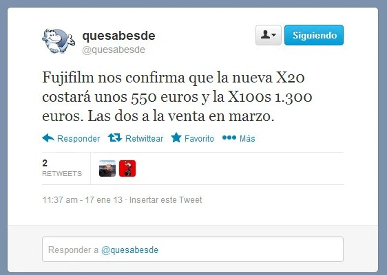 Tuit @quesabesde