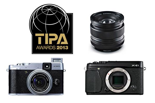 Productos Fujifilm premiados en los premios TIPA 2013