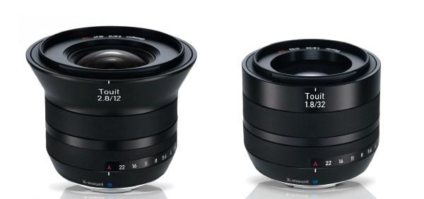 Zeiss Touit 12mm f/2.8 y 32mm f/1.8