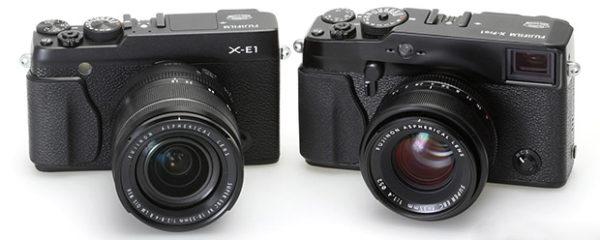 Fuji X-E1 y X-Pro1
