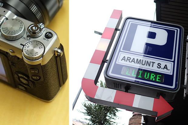 El dial de control de exposición de la Fuji X-E2 y foto tirada a +3EV