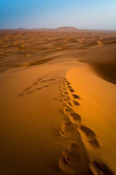 Subida a la gran duna por Óscar arranz, con Fuji X-Pro1