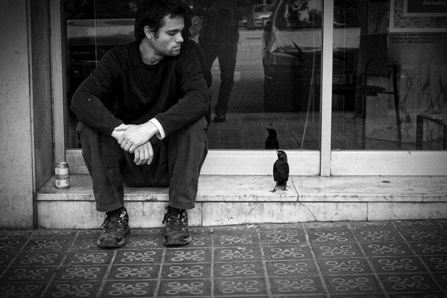Never trust a crow por Ignasi Raventós con Fuji X-T1