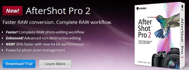Corel After Shot Pro 2, con soporte X-Trans