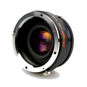 Mitakon Turbo Lens Mark II Canon EF a Fuji X