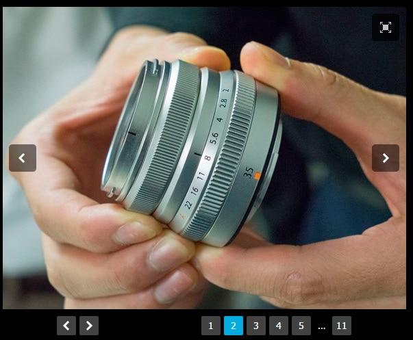 Fotos de lentes de la próxima hoja de ruta en Dpreview