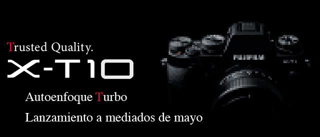 X-T10 autoenfoque mejorado