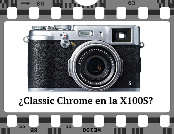 Classic Chrome con la fuji X100S