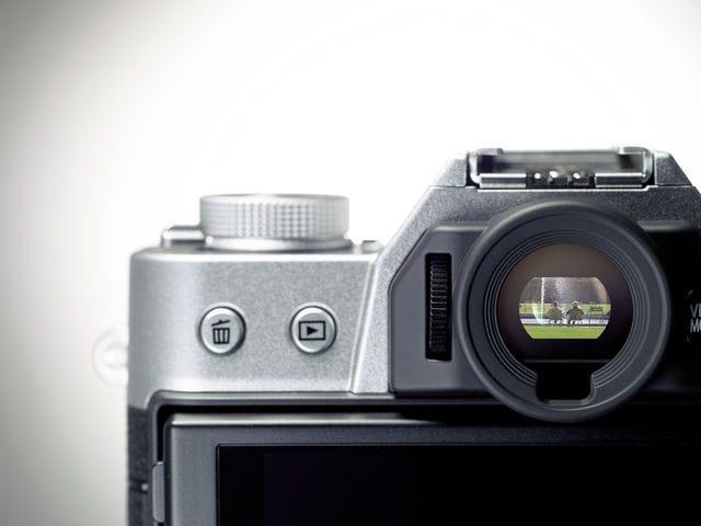 Visor de la Fujifilm X-T10
