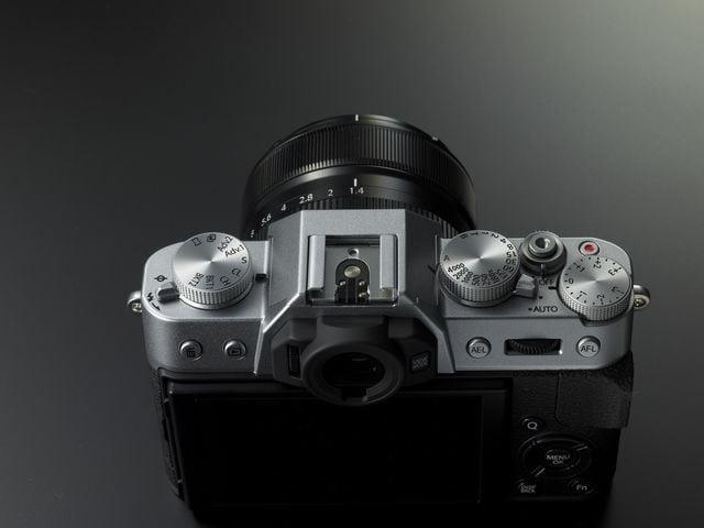 Fujifilm X-T10 diales superiores