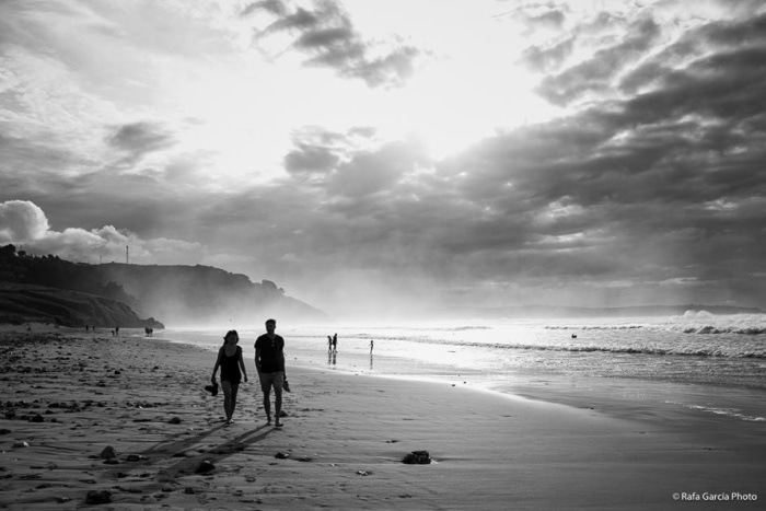"""""""Playa de Vega"""" por Rafael García Márquez, con Fuji X100T."""