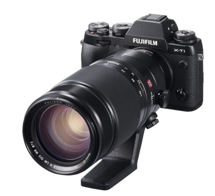 Fujinon XF 1.4X TC WR montado en un XF 50-140mm f/2.8.