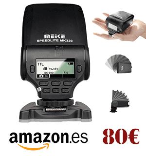 Comprar flash Meike MK 320 para Fujifilm