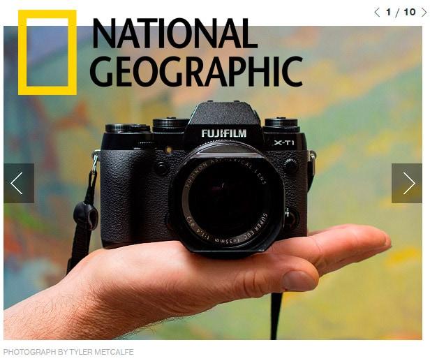 Fujifilm X-T1 cámara viajera de National Geographic.