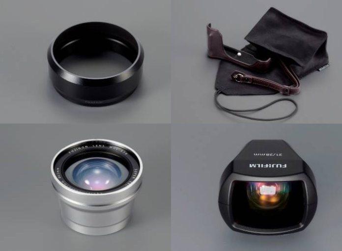 Accesorios disponibles para la Fujifilm X70.
