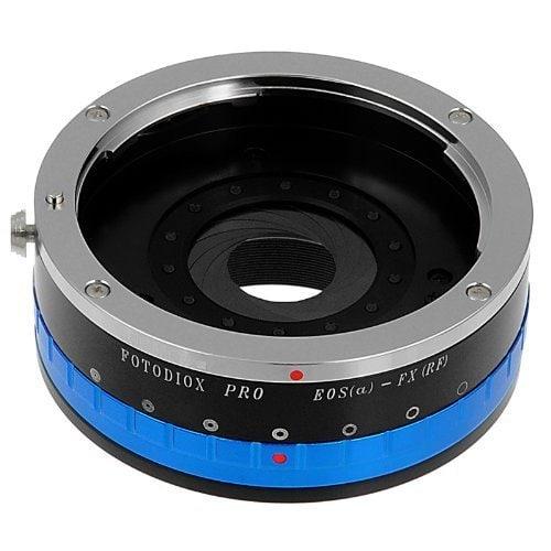 Adaptador Fotodiox Canon EF a montura X.