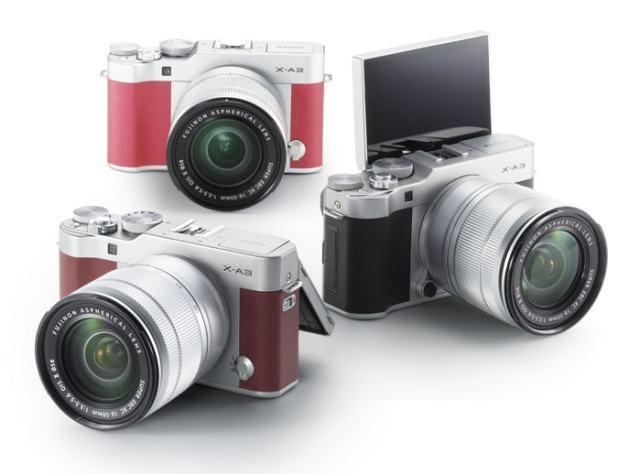 Colores Fujifilm XA3
