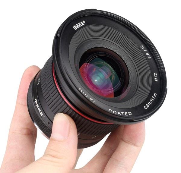 Meike 12mm f/2.8 para Fujifilm X.
